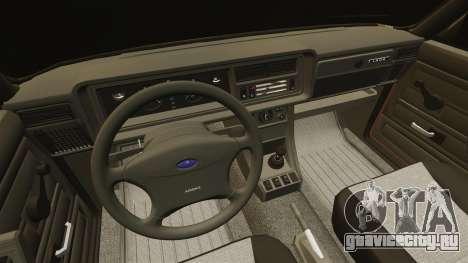 ВАЗ-2107 для GTA 4 вид сверху