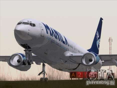 Boeing 737-800 Spirit of Manila Airlines для GTA San Andreas
