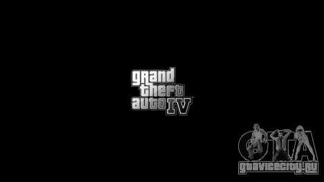 Обновлённое меню и экраны загрузки для GTA 4 третий скриншот