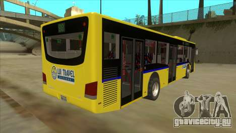 Bus Line 88 Novi Zeleznik для GTA San Andreas вид справа