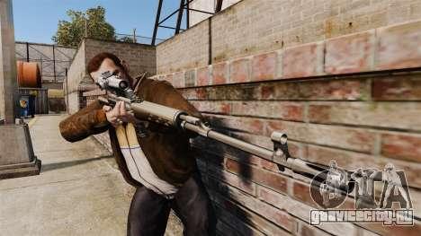 Снайперская винтовка Драгунова v1 для GTA 4 третий скриншот