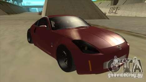 Nissan 350Z JDM для GTA San Andreas вид слева