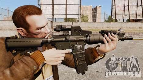 Тактическая M4 v2 для GTA 4