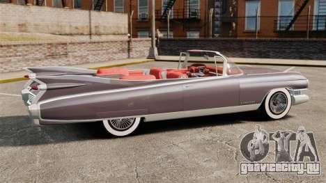 Cadillac Eldorado 1959 v1 для GTA 4 вид слева