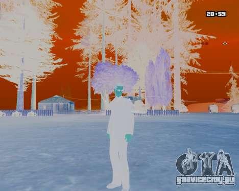 White NarcomaniX Colormode для GTA San Andreas