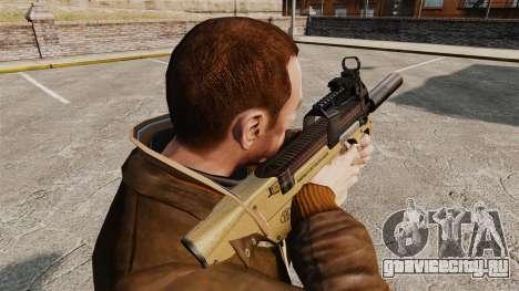 Бельгийский пистолет-пулемёт FN P90 v4 для GTA 4 второй скриншот