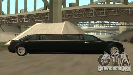 Chrysler 300C Limo 2006 для GTA San Andreas вид слева