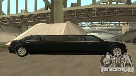Chrysler 300C Limo 2006 для GTA San Andreas вид слева