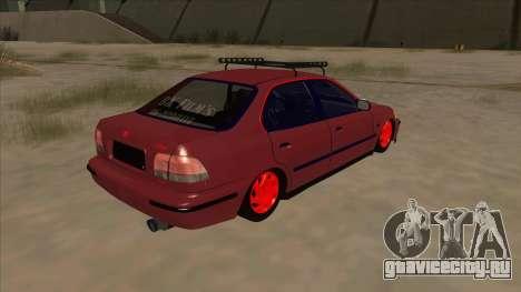 Honda Civic V2 BKModifiye для GTA San Andreas вид справа