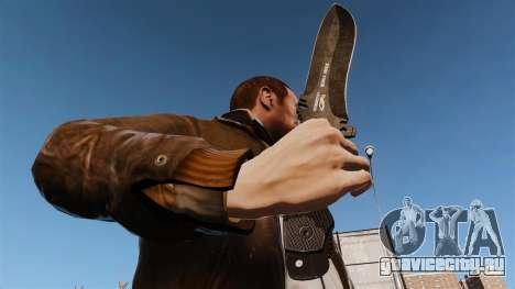 Тактический нож v6 для GTA 4 третий скриншот