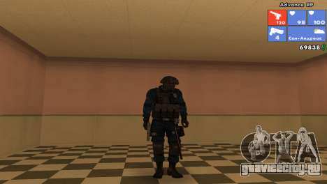 Скин SWAT для GTA San Andreas шестой скриншот