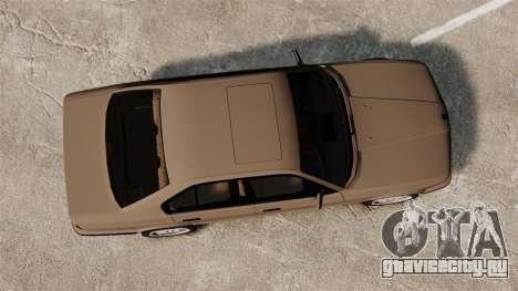 BMW M5 E34 для GTA 4 вид справа