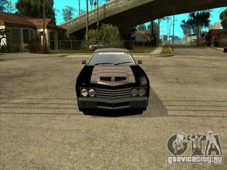 Remington для GTA San Andreas вид справа