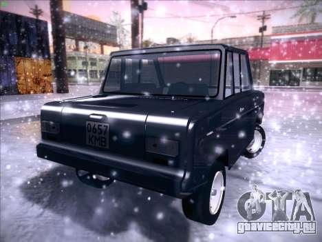 СеАЗ С-3Д для GTA San Andreas вид изнутри