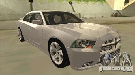 Dodge Charger RT 2011 V2.0 для GTA San Andreas вид слева