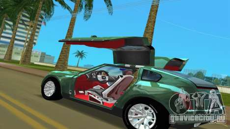Infiniti Triant для GTA Vice City вид сзади слева