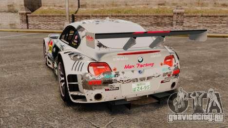 BMW Z4 M Coupe GT Black Rock Shooter для GTA 4 вид справа