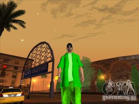 Новый скин Groove st. для GTA San Andreas пятый скриншот