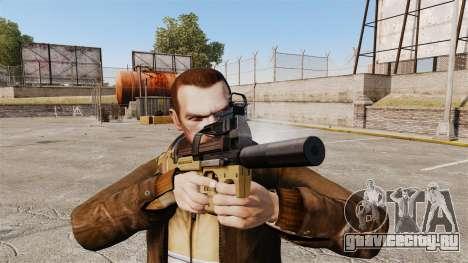Бельгийский пистолет-пулемёт FN P90 v4 для GTA 4 третий скриншот