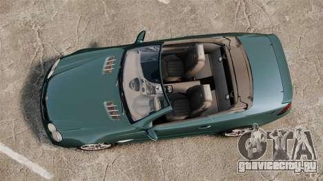 Mercedes-Benz SL65 2007 AMG v1.2 для GTA 4 вид справа