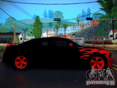 Dodge Charger SRT-8 Tuning для GTA San Andreas вид слева
