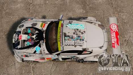 BMW Z4 M Coupe GT Black Rock Shooter для GTA 4 вид сзади