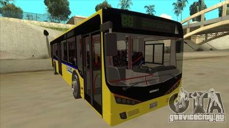 Bus Line 88 Novi Zeleznik для GTA San Andreas вид слева
