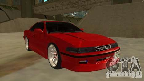Toyota Chaser JZX81 Touge Style для GTA San Andreas вид слева