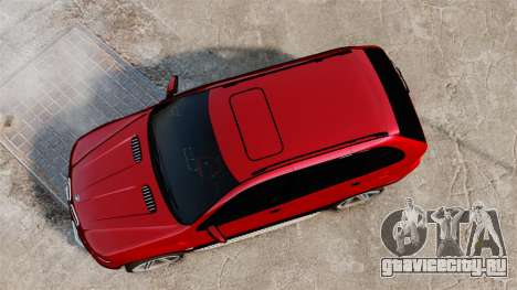 BMW X5 4.8iS v3 для GTA 4 вид справа