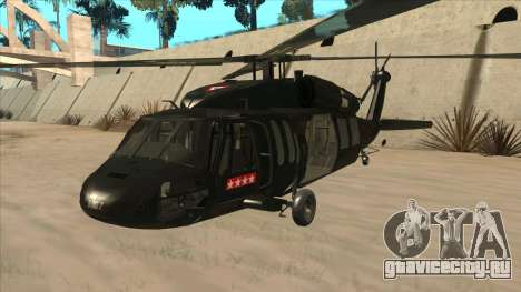 Sikorsky UH-60L Black Hawk Mexican Air Force для GTA San Andreas