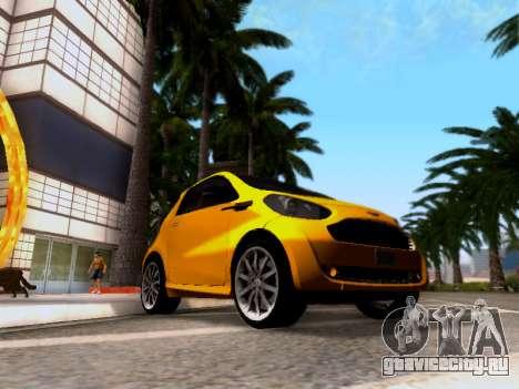 Aston Martin Cygnet 2011 для GTA San Andreas
