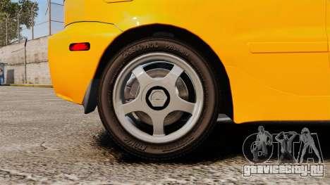 Daewoo Lanos Sport US 2001 для GTA 4 вид сзади
