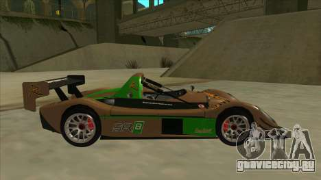 Radical SR8 RX для GTA San Andreas вид сзади слева
