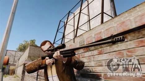 Снайперская винтовка Sako TRG-42 для GTA 4 второй скриншот