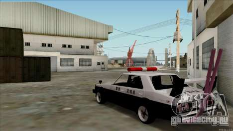Nissan Skyline Bosozoku для GTA San Andreas вид справа