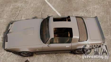 Imponte Phoenix 455 RS для GTA 4 вид справа