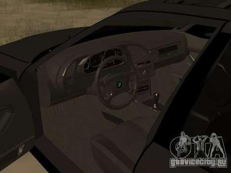 BMW 320i E36 для GTA San Andreas вид справа