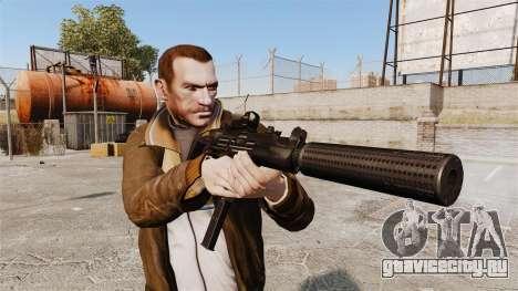 Тактическая узи v1 для GTA 4 третий скриншот