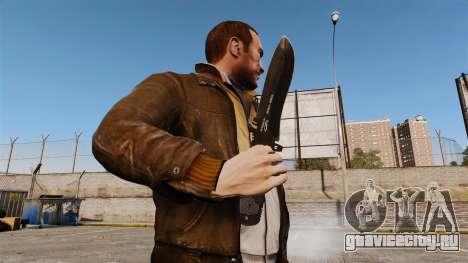 Тактический нож v6 для GTA 4