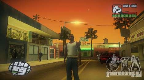 GTA HD Mod для GTA San Andreas третий скриншот