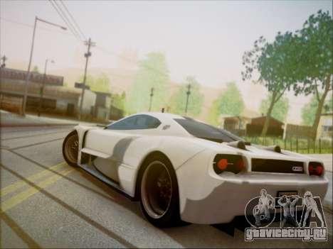 Joss JP1 2010 Supercar V1.0 для GTA San Andreas вид слева