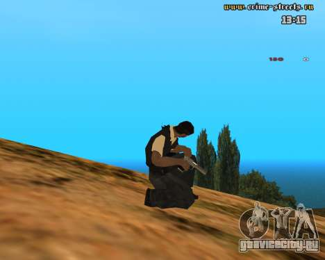 White Chrome Desert Eagle для GTA San Andreas третий скриншот