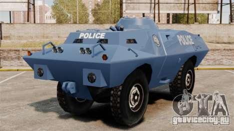 S.W.A.T. Police Van для GTA 4