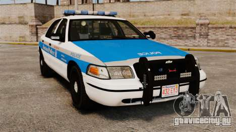 Ford Crown Victoria Police Massachusetts ELS для GTA 4