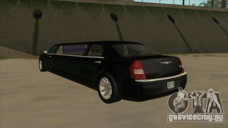 Chrysler 300C Limo 2006 для GTA San Andreas вид справа