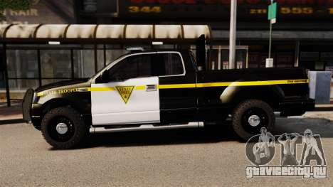 Ford F-150 v3.3 State Trooper [ELS & EPM] v3 для GTA 4 вид слева