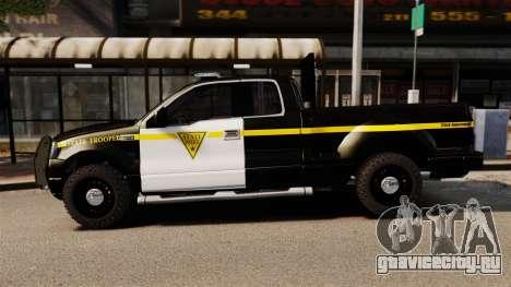 Ford F-150 v3.3 State Trooper [ELS & EPM] v3 для GTA 4 вид слева