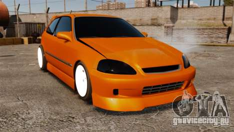 Honda Civic Gtaciyiz 2 для GTA 4