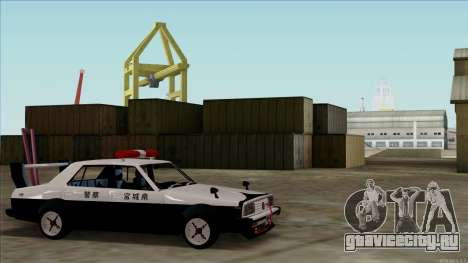 Nissan Skyline Bosozoku для GTA San Andreas вид сзади слева