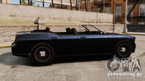 Buffalo кабриолет для GTA 4 вид слева